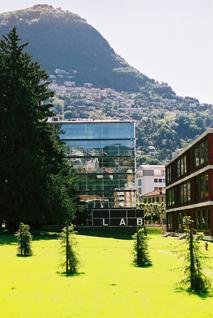 Foto del campus di Lugano